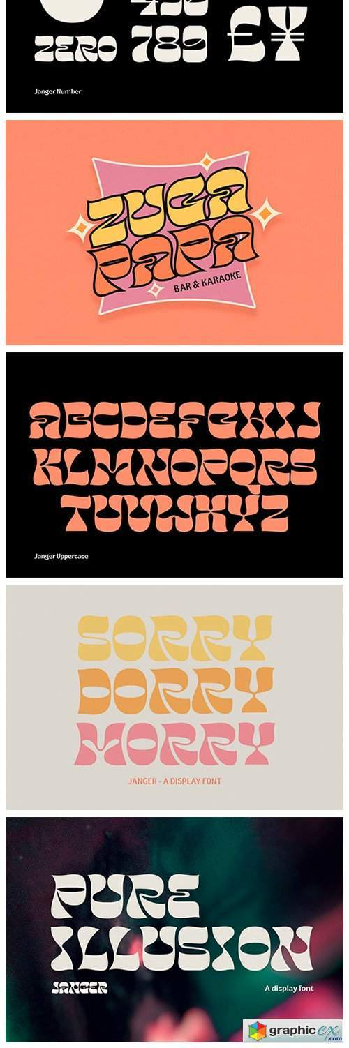 Janger Display Font