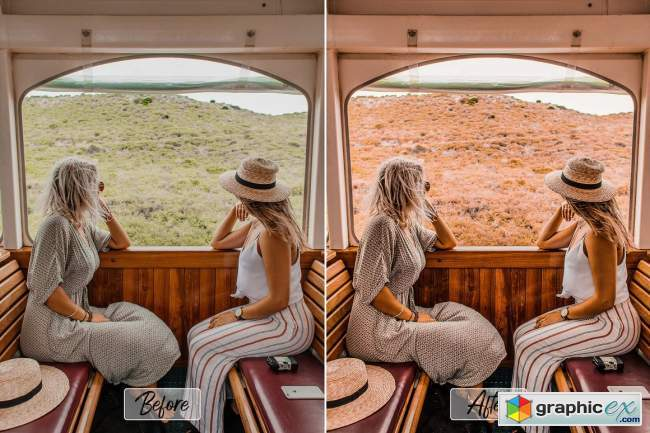 10 Pro Desert Ps, ACR, LUTs Filter