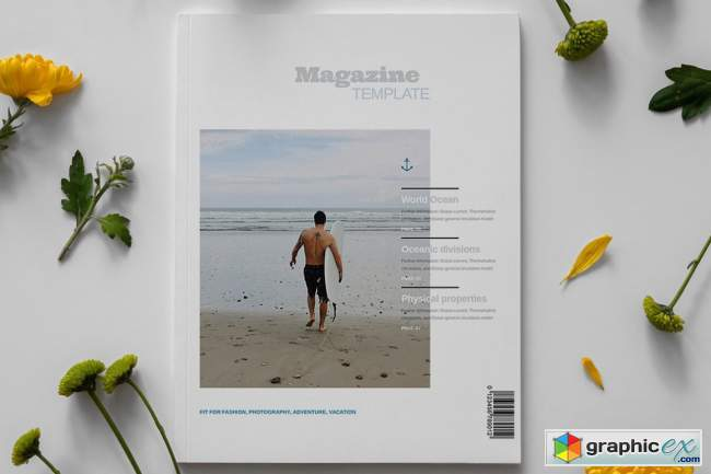 Lifestyle Magazine Layout Template