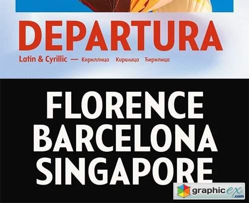 Departura Font