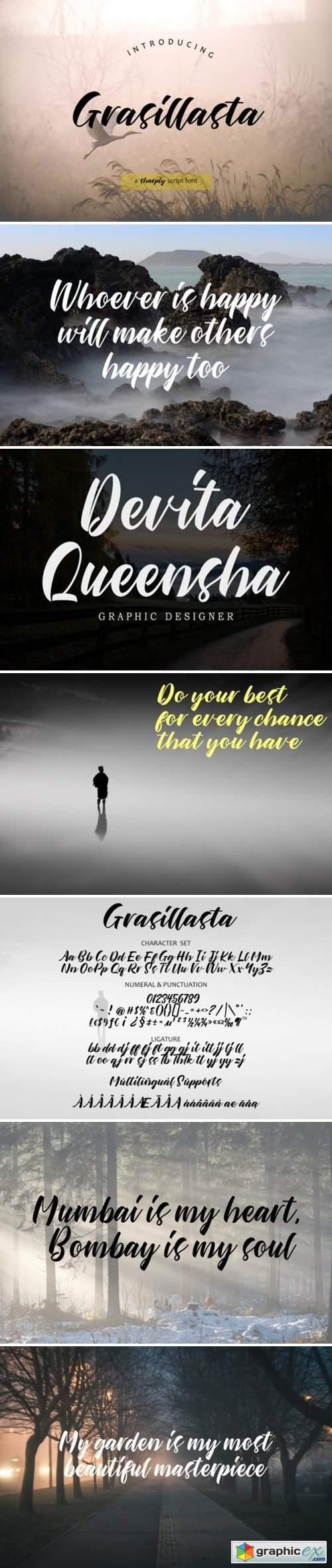 About Grasillasta Font