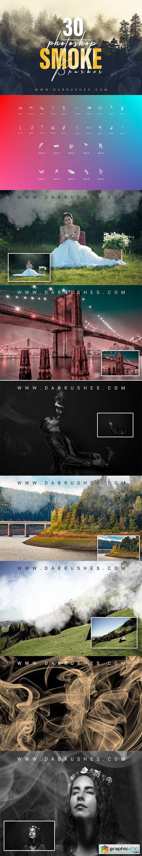 30 Smoke Photoshop Brushes
