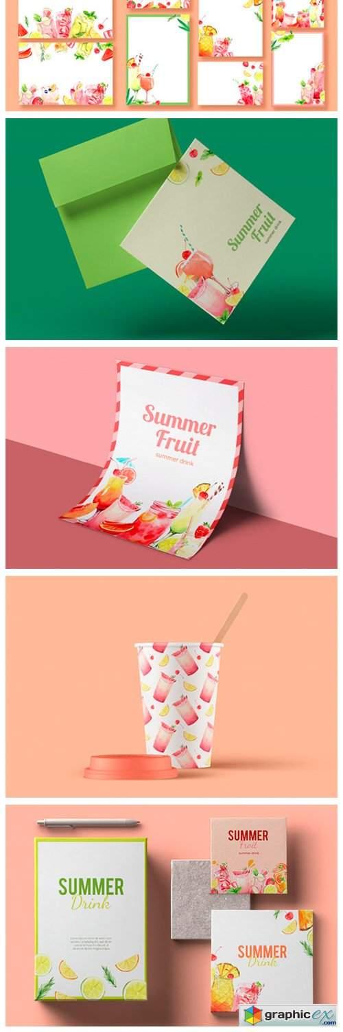Refreshing Summer Drinks, Mocktails