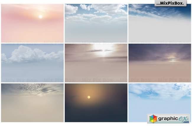 Dramatic Sky Overlays