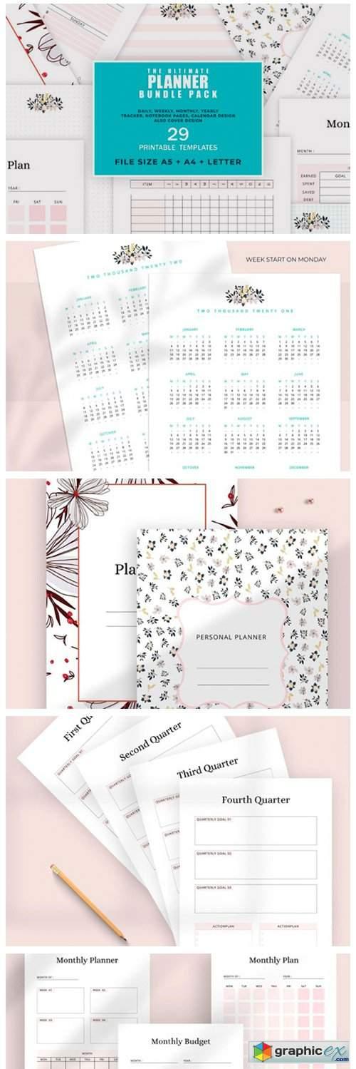 Ultimate Printable Planner Bundle