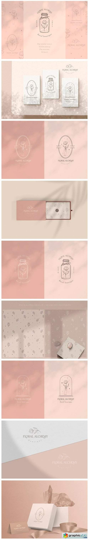 Pre-made Logo Template + Packaging. Jar.