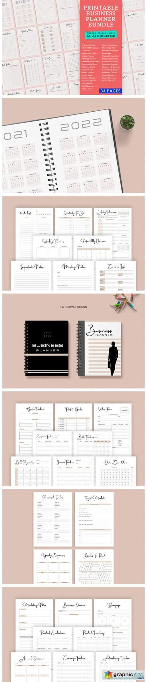 Business Finance Planner Printable