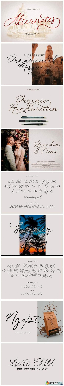Alternotes Font