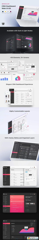 Brinhildr - Dashboard Web UI Kit
