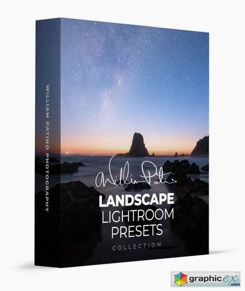 William Patino Landscape Lightroom Presets