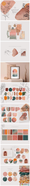 Line Art Creator and Patterns Summer