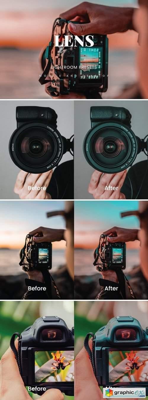 Lens Lightroom Presets Dekstop and Mobile