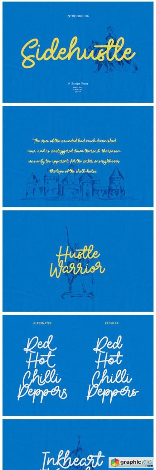 Sidehustle Font