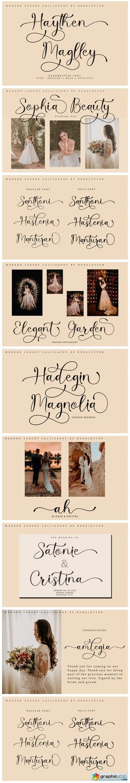 Haythen Maglley Font