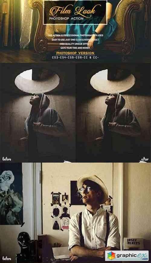 Film Look Photoshop Action ATN