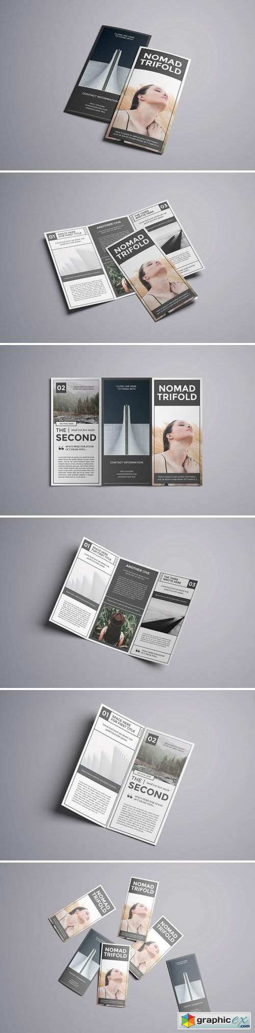 Nomad A4 Trifold Brochure 1867298