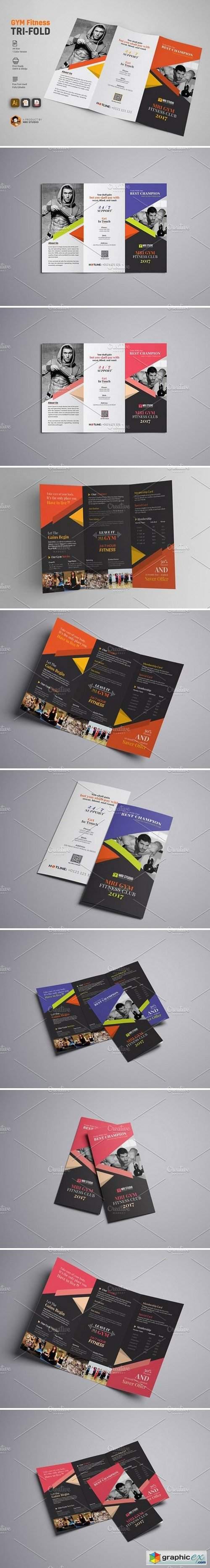 GYM Tri Fold Brochure