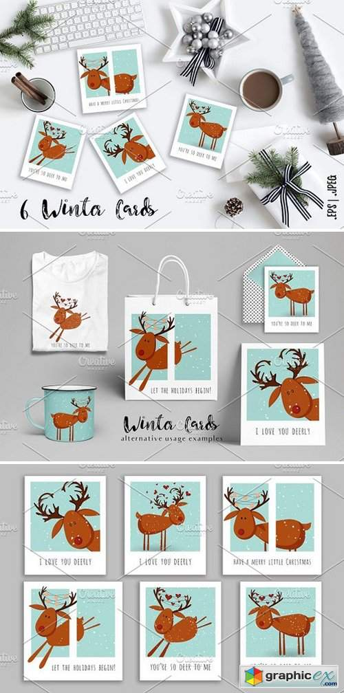 Cute Winter Cards - 2