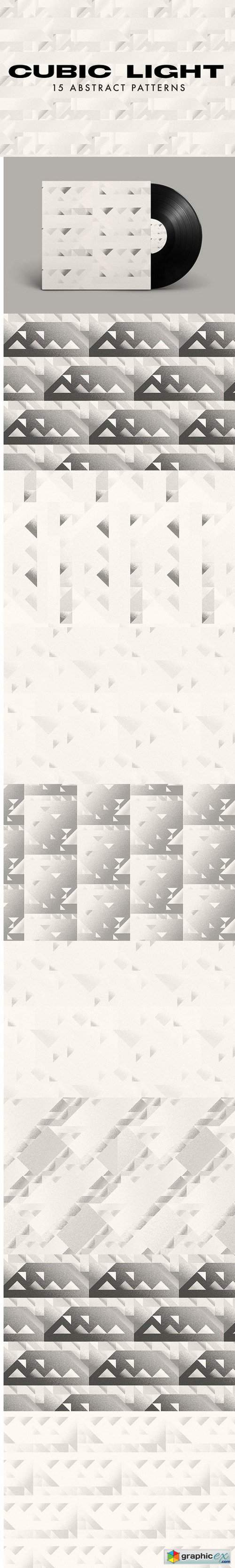 15 Cubic Seamless Patterns