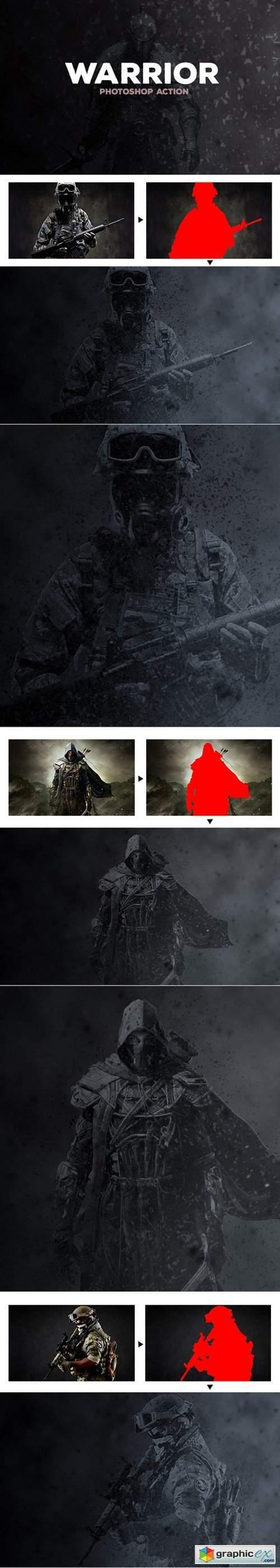 Warrior - Photoshop Action #38