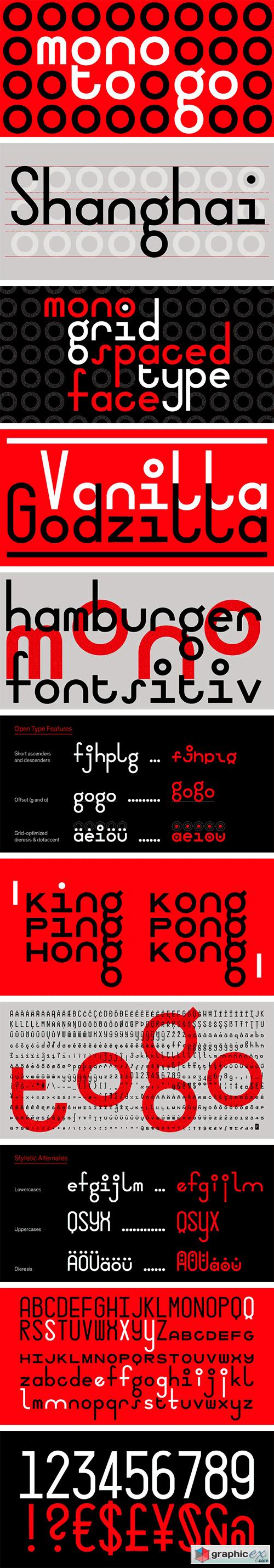 Mono To Go Font