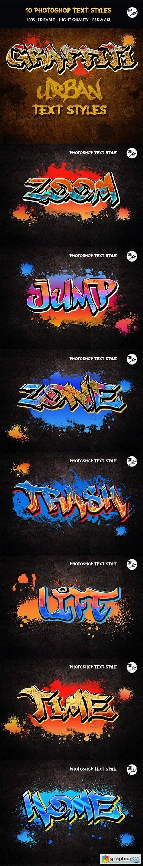 Graffiti Text Styles 31259545