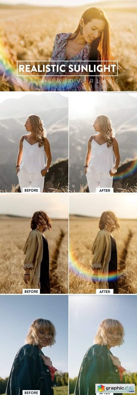 60 Realistic Sunlight Overlays