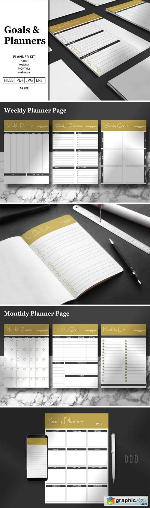 Daily & Weekly Planner