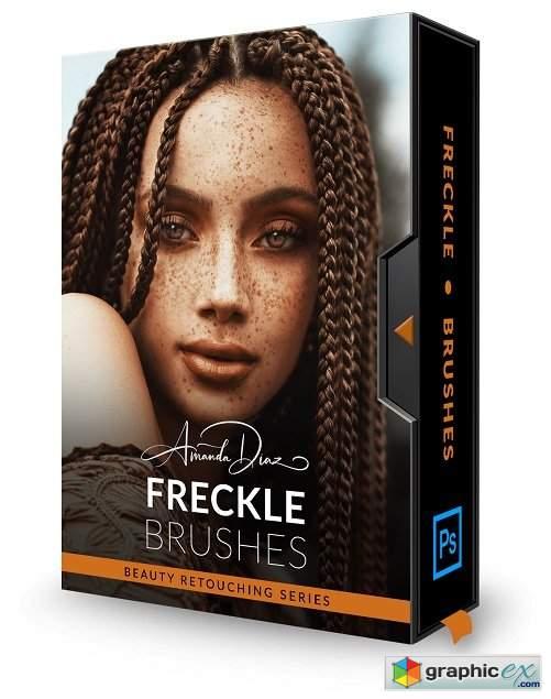 Amanda Diaz Photography - Freckle Photoshop Brushes