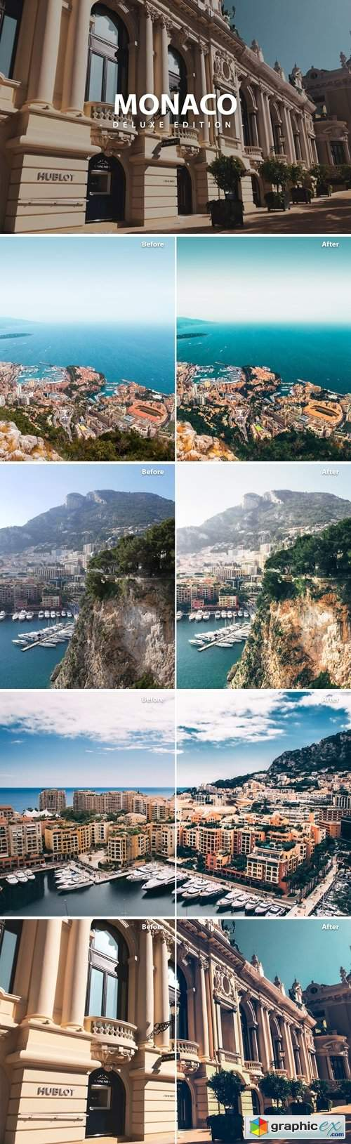 Monaco Pack | Deluxe edition for Mobile and Pc