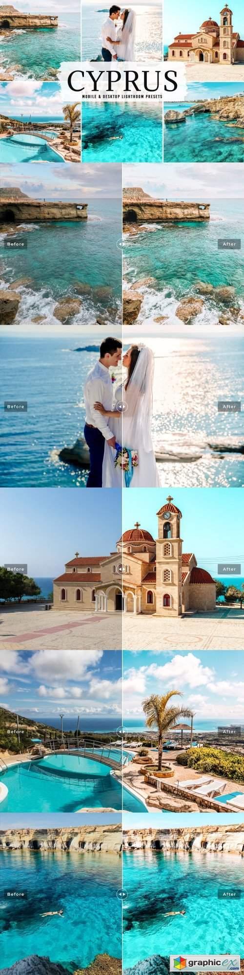 Cyprus Pro Lightroom Presets