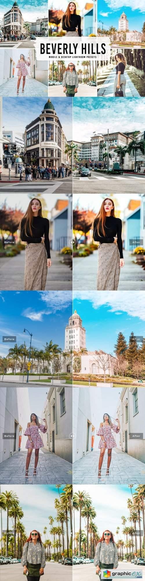 Beverly Hills Lightroom Presets V2