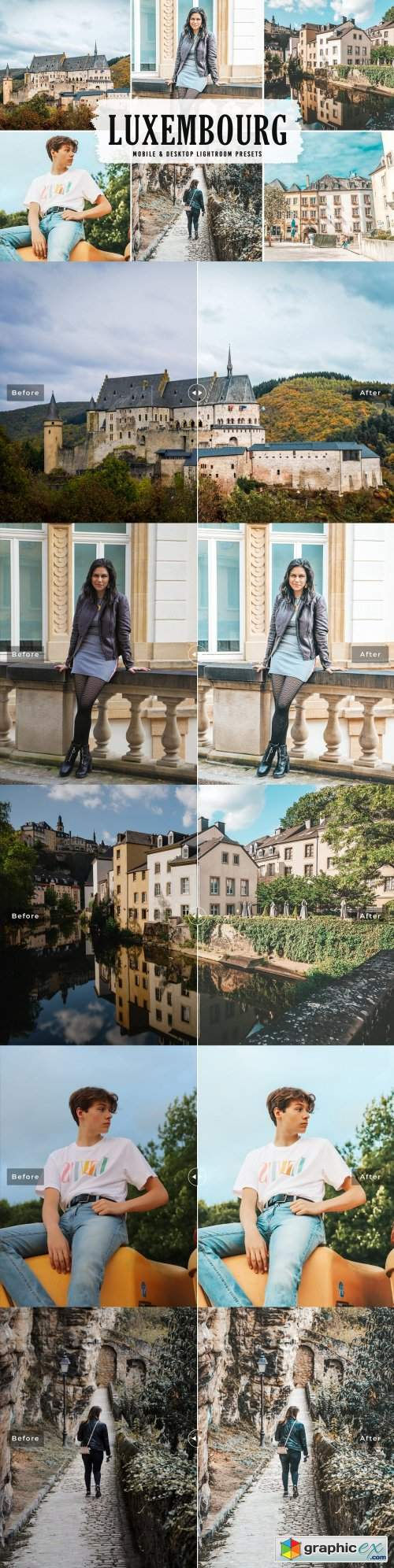Luxembourg Pro Lightroom Presets