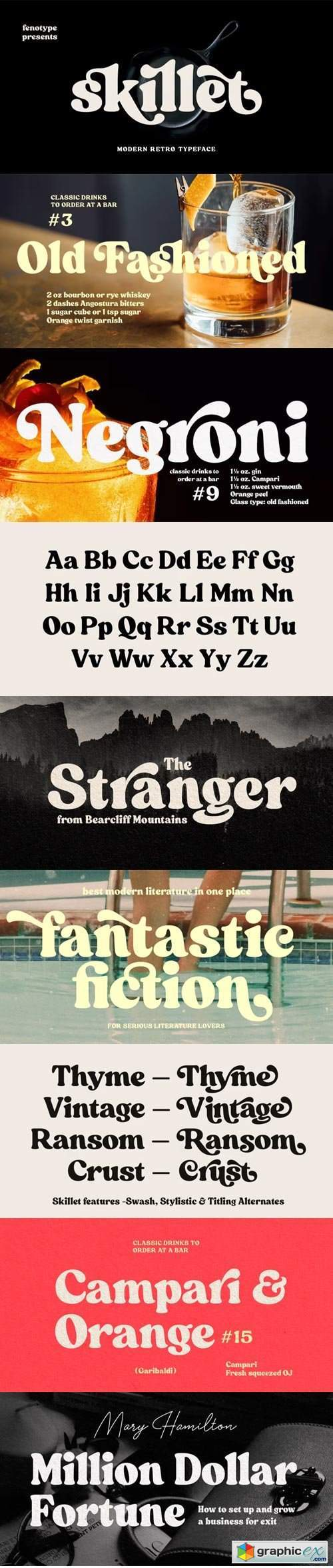 Skillet Font Family
