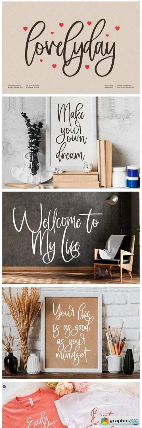 Lovelyday Font