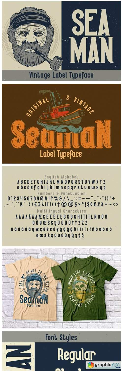 Seaman Font
