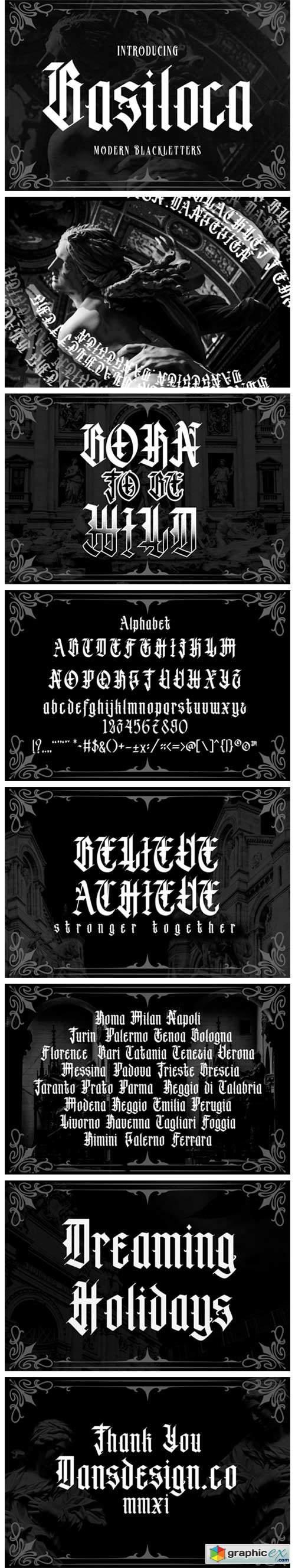 Basiloca Font