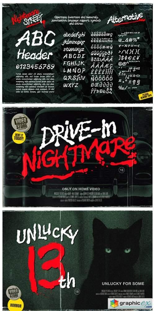 Nightmare Street Font