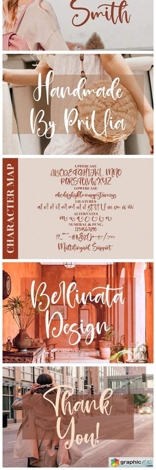 Prilista Delrosa Font