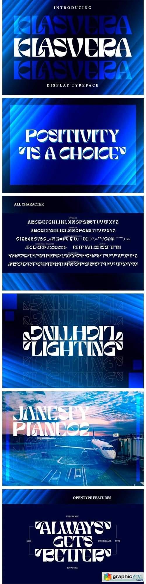 Klasvera Font
