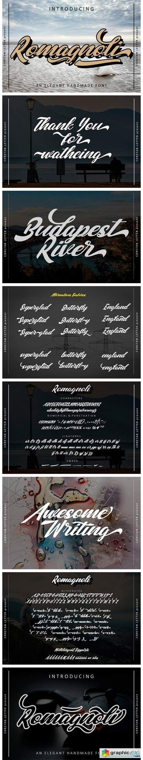 Romagnoli Font