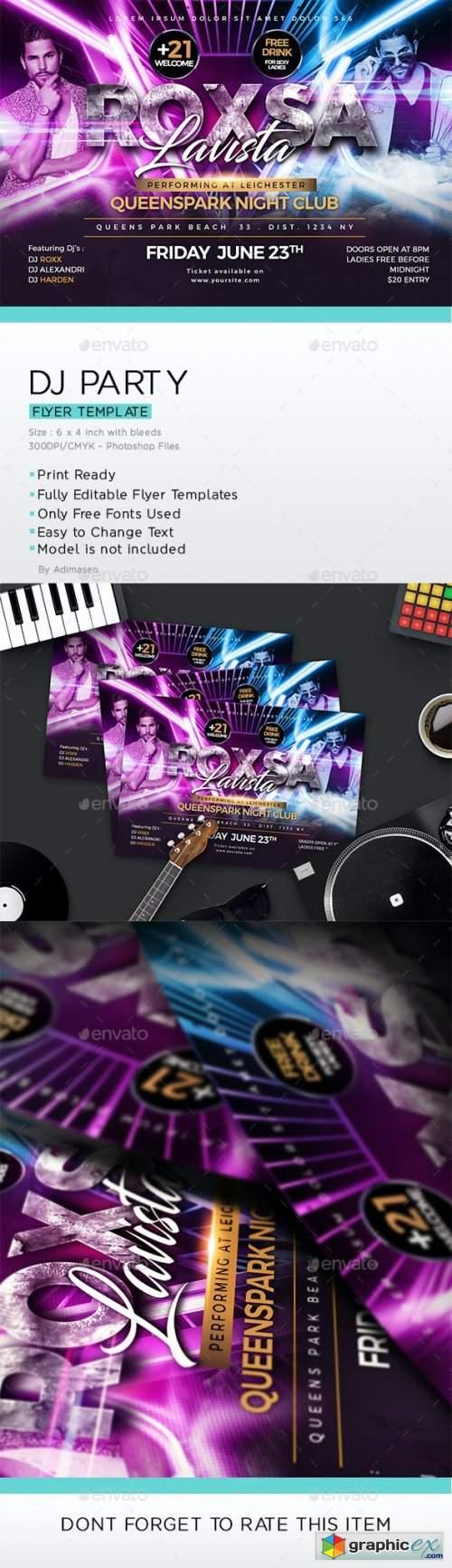 DJ Party Flyer 24279016