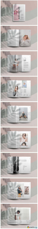 Adiantum - Magazine Template