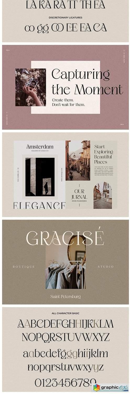 Ageya - Modern Elegant Serif Font