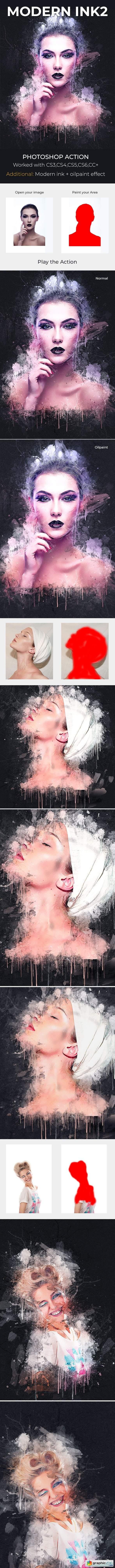 Modern Ink2 Photoshop Action