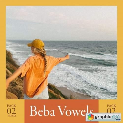 G-Presets - Beba Vowels - Pack 02 Mobile