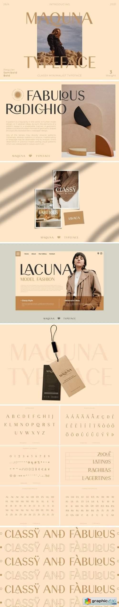 Maquna Font