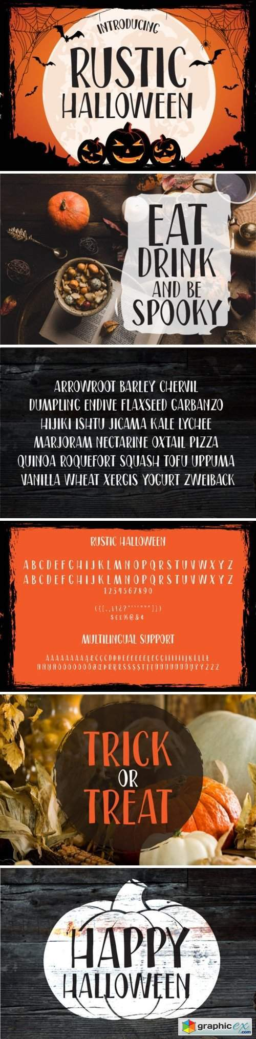 Rustic Halloween Font