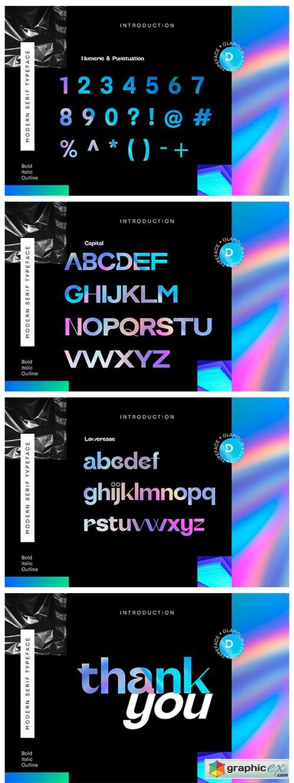 Coldag Modern Serif Font