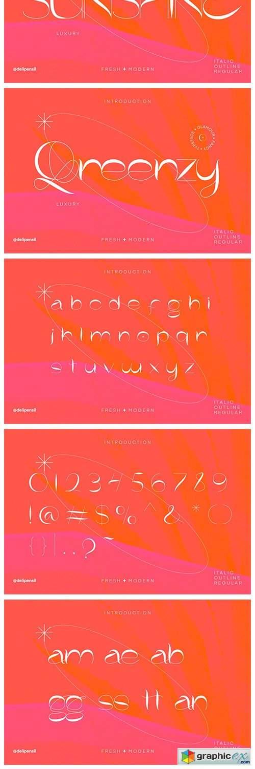 Moggie - Fresh Modern Typeface